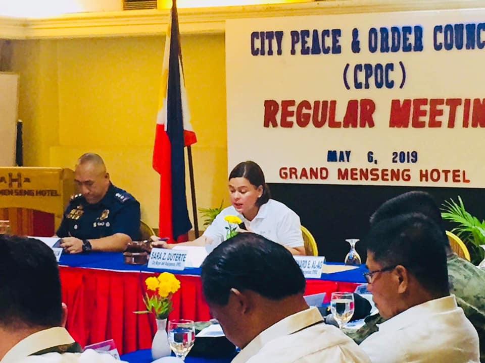 City Peace And Order Council Meeting Malampuson- Seguridad Sa Syudad Mas Gipahugtan