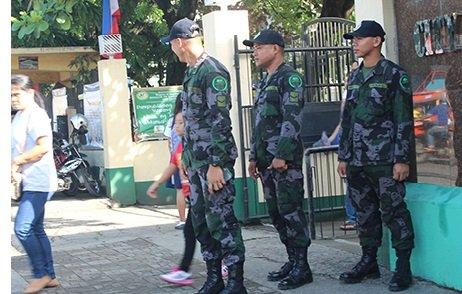 Gatosan ka mga Police gipakatag sa CDO ning pagbukas sa klase