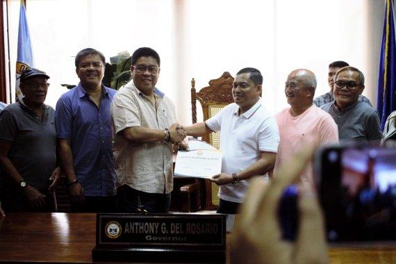 Duties And Responsibilities Sa Probensiya Pormal Nang Gi Turn Over Sa Bang-Ong Gobernador Sa Davao Del Norte