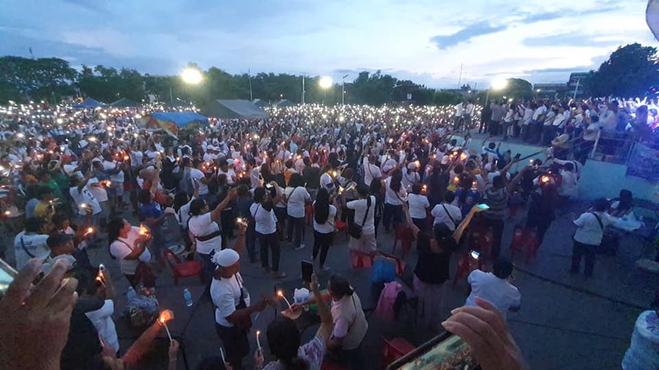 Ikaduhang Prayer Rally Sa KAPA Community Ministry Gidagsa Sa Libuan Ka Mga Miembro