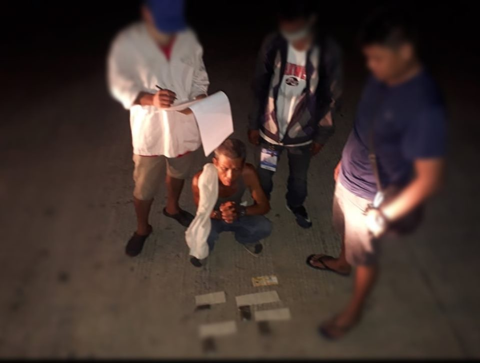 BUY BUST IN BUHANGIN CAPTURED MIDDLE-AGED DRUG PUSHER