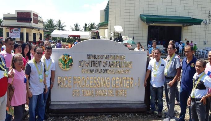 Evangelista Inaugurates P5.9-M Rice Processing Complex In New Visayas