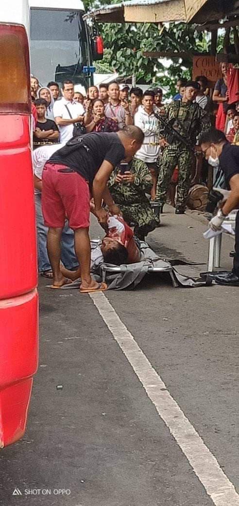 HOSTAGE TAKER PATAY HUMAN MIDUMILI PAG-SURRENDER SA POLICE